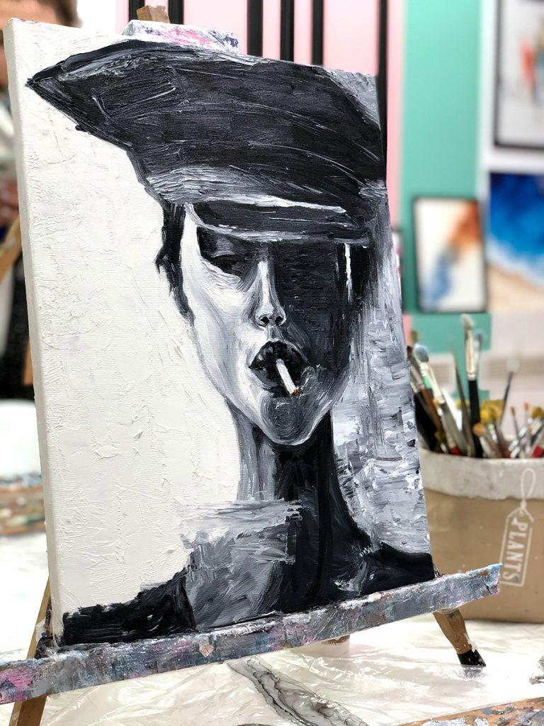 maslo art faces