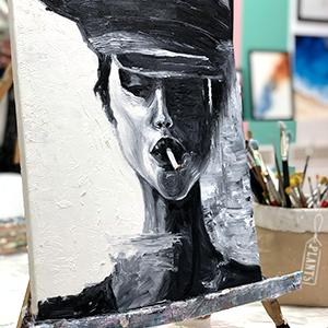 maslo art faces_
